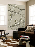 Neutral Cherry Blossoms I Wall Mural by Grace Popp