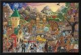 A Magical Mystery Tour (de 100 canciones de los Beatles) Póster