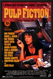 Pulp Fiction – Cover with Uma Thurman Movie Poster Print