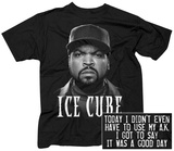Ice Cube- Big Face (Front/Back) T-Shirt