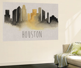 City Silhouettes III Wall Mural by Grace Popp