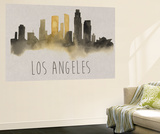 City Silhouettes IV Wall Mural by Grace Popp