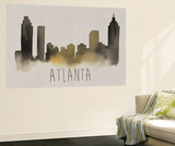 City Silhouettes I Wall Mural by Grace Popp