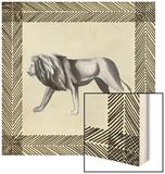 Wild Safari I Wood Print by Grace Popp