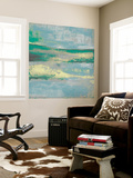 Cool Horizon II Wall Mural by Jennifer Goldberger