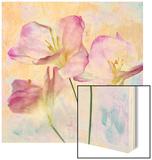 Pink Hyacinth III Wood Print by Honey Malek