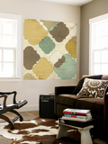 Quatrefoil Overlay IV Wall Mural by June Erica Vess