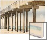 Boardwalk III Wood Print by Sylvia Coomes