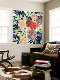 Rosen Palms I Wall Mural by Grace Popp