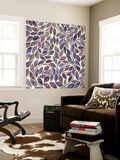 Amethyst Swirls III Wall Mural by Grace Popp