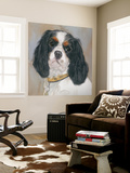 Charlie Tricolor CKC Wall Mural by Edie Fagan