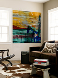 Oil Rig Abstract Wall Mural by Sisa Jasper