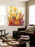 Mixed Bouquet I Wall Mural by Tim O'toole