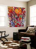 Mixed Bouquet III Premium Wall Mural by Tim O'toole