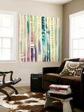 Nightfall Cascade I Wall Mural by Grace Popp