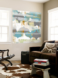 Arabesque Abstract II Wall Mural by Jennifer Goldberger