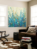 Shades of Blue II Wall Mural by Tim O'toole