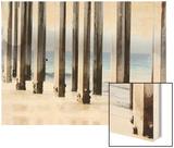 Boardwalk IV Wood Print by Sylvia Coomes