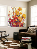 Mixed Bouquet II Wall Mural by Tim O'toole
