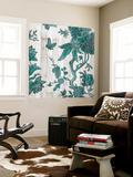 Terra Verde Chinoiserie I Premium Wall Mural by Naomi McCavitt