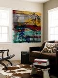Windmill Abstract Wall Mural by Sisa Jasper
