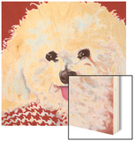 Dlynn's Dogs - Marie Wood Print by Dlynn Roll