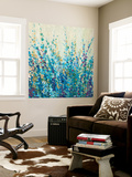 Shades of Blue I Wall Mural by Tim O'toole