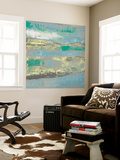 Cool Horizon I Wall Mural by Jennifer Goldberger