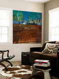 Oil Rig Abstraction II Wall Mural by Sisa Jasper