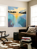 Back Bay Sun I Wall Mural by Grace Popp