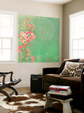 Tokyo Cherry III Wall Mural by Evelia Designs