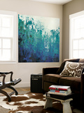 Sea Caverns I Wall Mural by Grace Popp