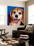 Dlynn's Dogs - Zach Wall Mural by Dlynn Roll