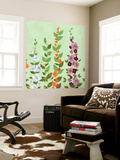 Bright Stems II Wall Mural by Rick Novak