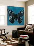 Chambray Butterflies I Wall Mural by Naomi McCavitt