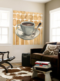 Cafe au Lait II Wall Mural by Grace Popp