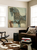 Patterned Horse I Wall Mural by Tim O'toole
