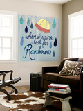 Rainy Day I Wall Mural by Grace Popp