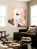 Dlynn's Dogs - Shell Wall Mural by Dlynn Roll