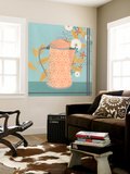 Whimsical Kitchen II Wall Mural by June Erica Vess