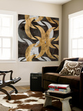 Golden Wave I Wall Mural by Jennifer Goldberger