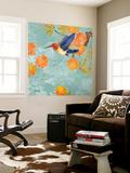 Blue Aurora I Poster géant par  Evelia Designs
