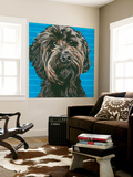 Dlynn's Dogs - Mini Wall Mural by Dlynn Roll