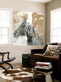 Driving Horses I Wall Mural by Naomi McCavitt