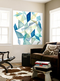 Geometric Jewel Abstract II Wall Mural by Grace Popp