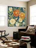 April Flowers I Wall Mural by Megan Meagher