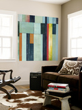 Geometric Conglomeration II Wall Mural by Grace Popp
