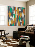 Lucien's Pattern I Wall Mural by Chariklia Zarris