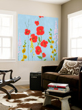 Bright Stems III Wall Mural by Rick Novak