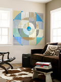 Circle Center I Wall Mural by Julie Joy